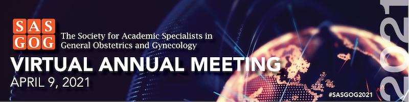 SASGOG 2021 virtual meeting